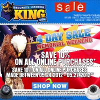 2013 Memorial Day Sale Email Design I Made