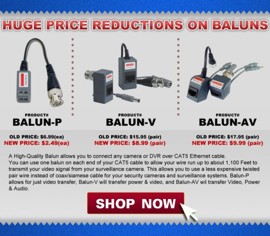 Balun Price Reduction Email For Retail Customers