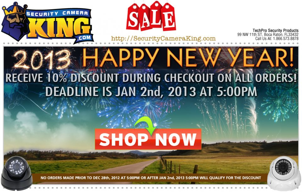 Email Blast for SCK New Year Of 2013
