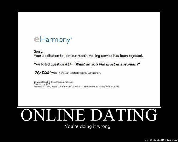 7118 1169612932461 1592116980 30487435 7101647 n Online Dating FAIL!