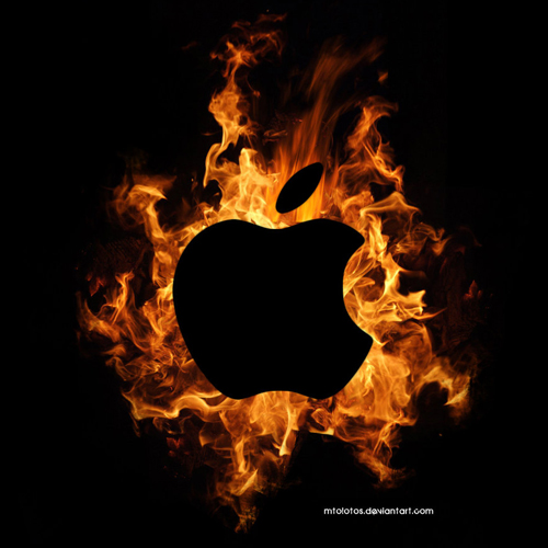 apple fire 1 Million Apple Device IDs Leaked