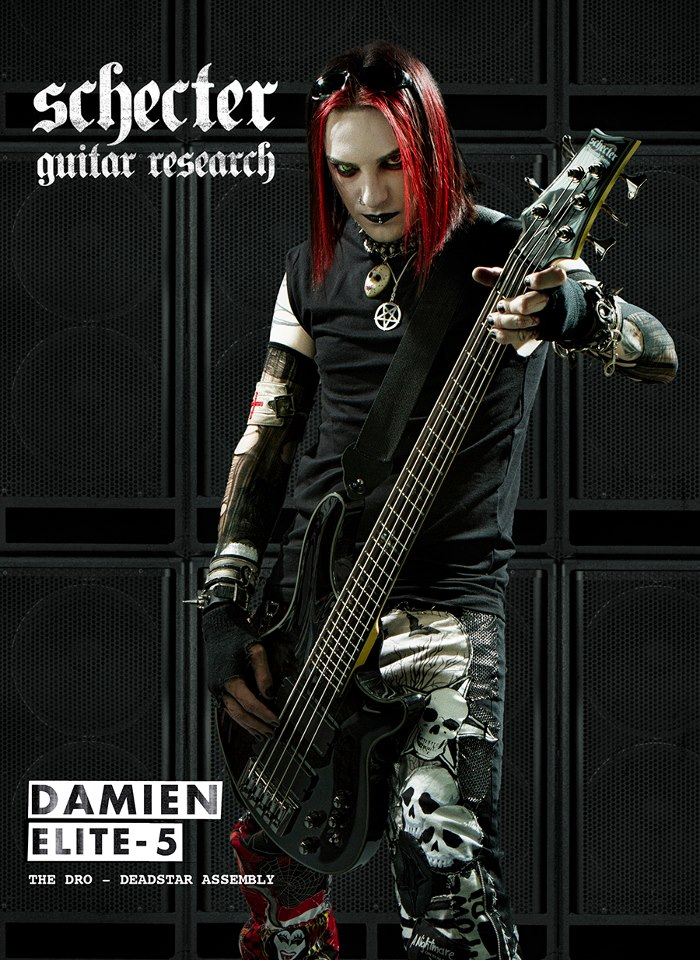 the dro schecter The Dro With Damien Elite 5 Schecter Bass