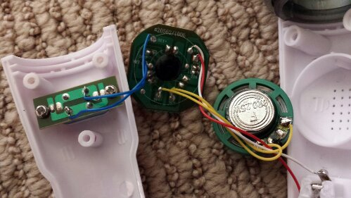 Kidz Bop Mini Melody Mic Internal Circuits