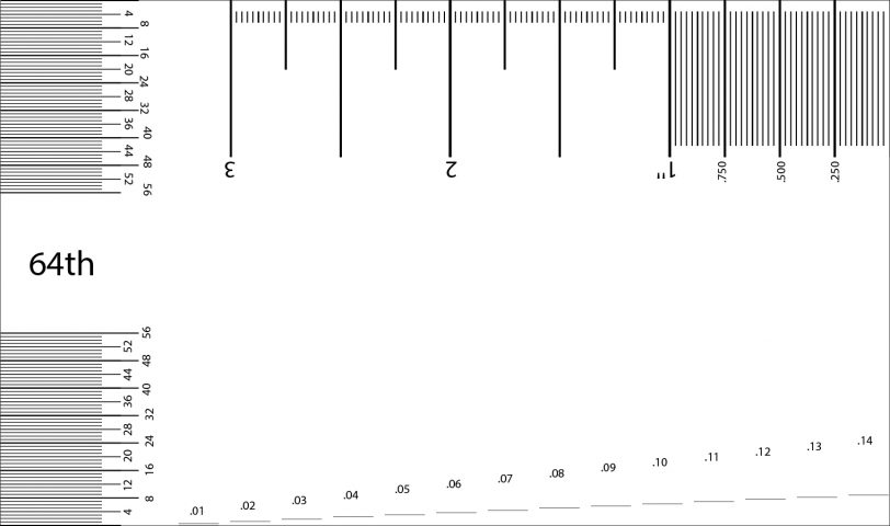 Free Downloadable and Printable Guitar Action Gauge
