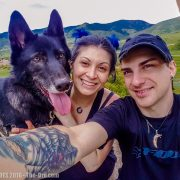 Luna The Wolfdog Hiking South Valley Park 066