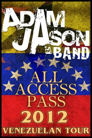 All-Access-Pass- Adam Jason Band