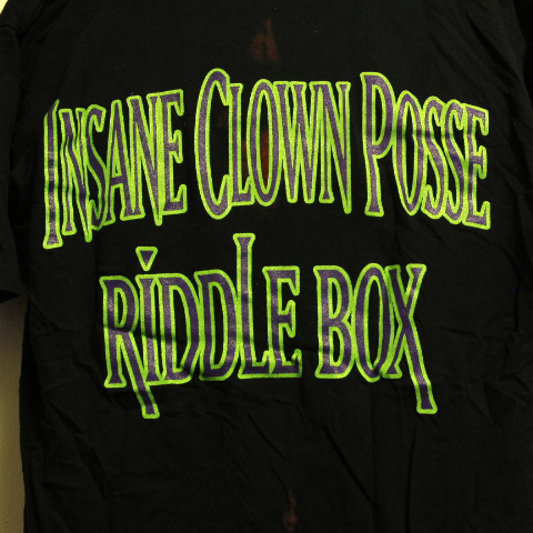 Insane Clown Posse - Riddle Box Large Tee