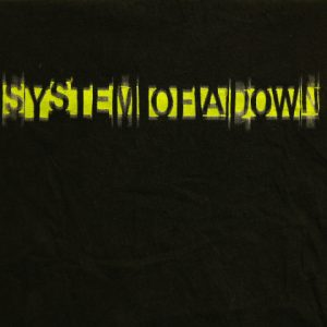 System of a Down Black Medium T-Shirt