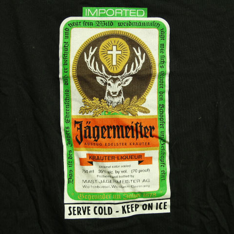 STEMM Jagermeister T-Shirt Large
