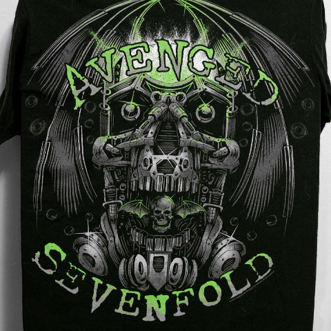 Avenged Sevenfold Small T-Shirt