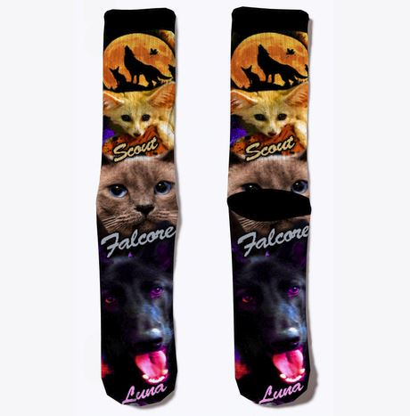 Falcore-Luna-Scout-Channel-Socks